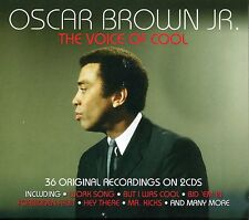 OSCAR BROWN JR. THE VOICE OF COOL - 2 CD BOX SET
