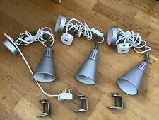 IKEA KVART WALL/ CLAMP SPOTLIGHT LAMP SET OF 3