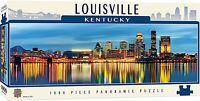 Louisville Kentucky 1000 piece panoramic jigsaw puzzle  990mm x 330mm  (mpc)