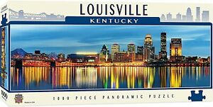 Louisville Kentucky 1000 piece panoramic jigsaw puzzle  990mm x 330mm  (mpc)