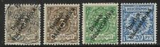 German South-West Africa 1897-1899 Selection (optd. T1 & T2) Mint/Used/Mounted