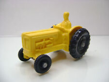 Stelco? Vinyl Line?/NO Tomte Gummi Fordson Tractor in Yellow Good Condition