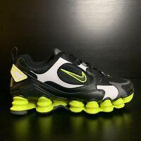 Nike Shox TL Nova Black Lemon Venom Athletic Shoes AT8046-003 Womens Size 7.5