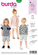 Sewing Pattern Burda Child T Shirt 9322