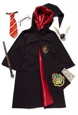 Kids Official Harry Potter Deluxe Costume 3-12  Glasses Wand Tie