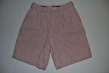 BROOKS BROTHERS RED WHITE STRIPED SEERSUCKER SHORTS BOYS SIZE 12