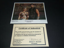 PARIS JEFFERSON AS ATHENA XENA WARRIOR PRINCESS SIGNED PHOTO WITH COA 8 X 10