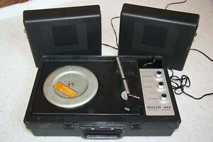 DDR Kofferplattenspieler Schallplattenspieler Ziphona Solid 423