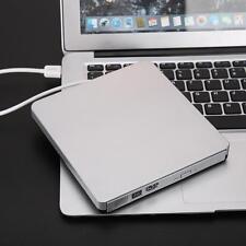 USB 3.0 Slim External CD DVD-RW DVD Writer Driver for PC Mac Laptop