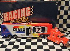 ALAN KULWICKI ZEREK 1:64 DIE CAST NASCAR TRUCK HAULER RCCA 1995 MINT!
