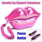 Novelty Lip Shaped Telephone Landline Desk Corded Phone Home Hotel Office Decor