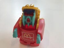 LOOSE McDonald's 1988 Food Changeables HAPPY MEAL TOY FRY FORCE TRANSFORMER
