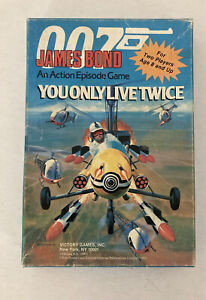 New James Bond 007 Action Episode Game you only Live Twice Victory Games RPG