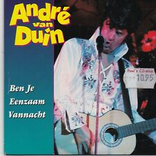 Andre Van Duin-Ben Je Eenzaam Vannacht cd single