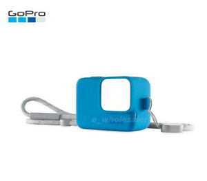 For GoPro hero7/6/5 Sports Camera Accessories Silicone Protective Case + Lanyard