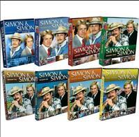 Simon & Simon: Complete Series Seasons 1-8 (DVD Collection, 41-Disc) US Seller