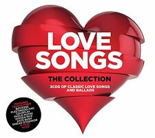 VARIOUS ARTISTS - LOVE SONGS: THE COLLECTION 3CD SET (2015)