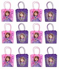 12x Disney Sofia the First Birthday Party Favor Goody Bags Loot Bags Gift  Bags