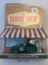 Greenlight 1956 Ford F-100 Green Chase The Hobby Shop Series 2
