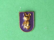 Olympic Games Moscow 1980, Games Talisman, Olympic Bear Pin Badge
