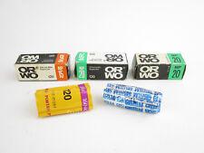5x diverse películas 120 roll película Orwo np15 20 kodak portra 160 VC caducado Exp.