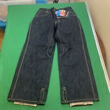 NEW Sessions Women's Size XS Blue Jean Snowboard Pants Recco Tracking Snow Ski