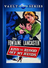 KISS THE BLOOD OFF MY HANDS (Joan Fontaine) - DVD - Region Free - Sealed