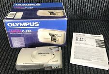 Olympus C-120 Camedia Digital Compact Camera With Box And Instruction Booklet