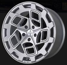 19X8.5/10 Radi8 CM9 5x112 +45/42 Silver Rims Fits Mederces C350 2012+