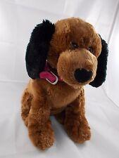 "Gund Macy's Brown Puppy Dog Plush 12"" Tall"