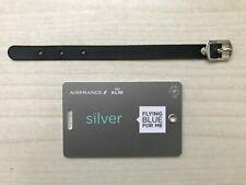 Etichetta bagaglio luggage tag Air France KLM Flyingblue Silver Elite Skyteam