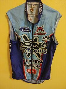 Men's Voler Mnt Diablo Triathlon Club Cycling Jersey Bike Back Pocket  USA Made
