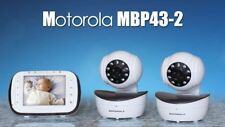 Motorola Digital Video Baby Monitor with 2 Cameras 3.5 Inch Color Video MBP43-2
