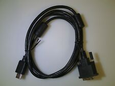HDMI/DVI-D cable 5ft 1.5m HDMI male A to DVI-D male Single-Link 18+1 pin