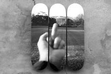 RARE Ai Weiwei Skateboard #504/666 Set of 3 | ARTIST'S HAND URBAN KAWS BANKSY