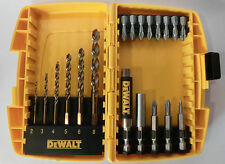 DEWALT DT7921-QZ Bit-Box mit Bohrer, Ph2, Pz2; 19-teilig