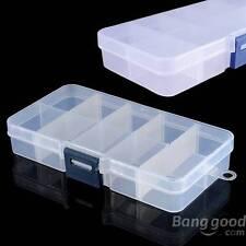 Detachable Compartment Empty Storage Case Box 10Slots Nail Tip Gems Little Stuff