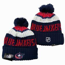 Columbus blue jackets New Era Beanie NHL Hat Adult Size