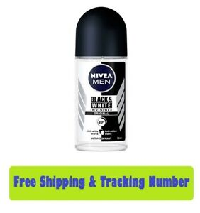 Nivea Deo Men Invisible Black & White Roll On Reduce Sweat And Deodorant 48Hours