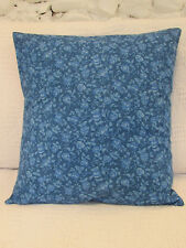 Pretty Cushion Cover, Vintage Roses, Blue Rose Buds, Shabby Chic, Retro.