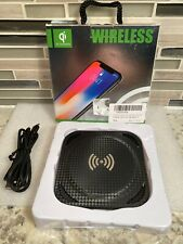 Amuoc 10W Qi Fast Charge Wireless Charger Pad