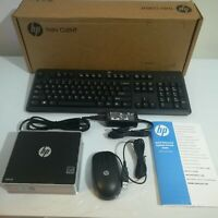 HP t310 Zero Client C3G80AT#ABA PC Desktop 512 MB RAM Mouse Keyboard Adapter New