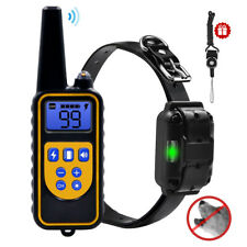 Waterproof Dog Shock Training Collar Rechargeable Remote Dog Anti Bark Collar