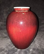 Vintage Catalina Island Pottery Gladding McBean Ox Blood Arts & Crafts Vase