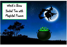 Witch's Brew Tea Magic Power Gift Envelope Herbal Traditional recipe PERSONALISE