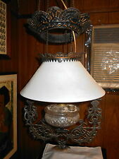 Antique Electrified Hanging Light