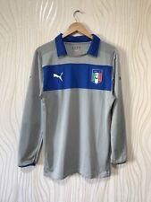 ITALY 2012 2013 GOALKEEPER FOOTBALL SHIRT SOCCER JERSEY LONG SLEEVE PUMA GRAY