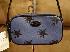 Coach Star Canyon Crossbody Pouch (Cornflower Blue) - NWT (F53428)
