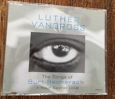 LUTHER VANDROSS - THE SONGS OF BURT BACHARACH + YOUR SECRET LOVE - SINGLE CD