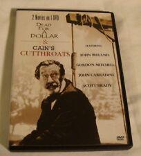 DEAD For A DOLLAR & CAIN's CUTTHROATS - Double Feature DVD - JOHN IRELAND